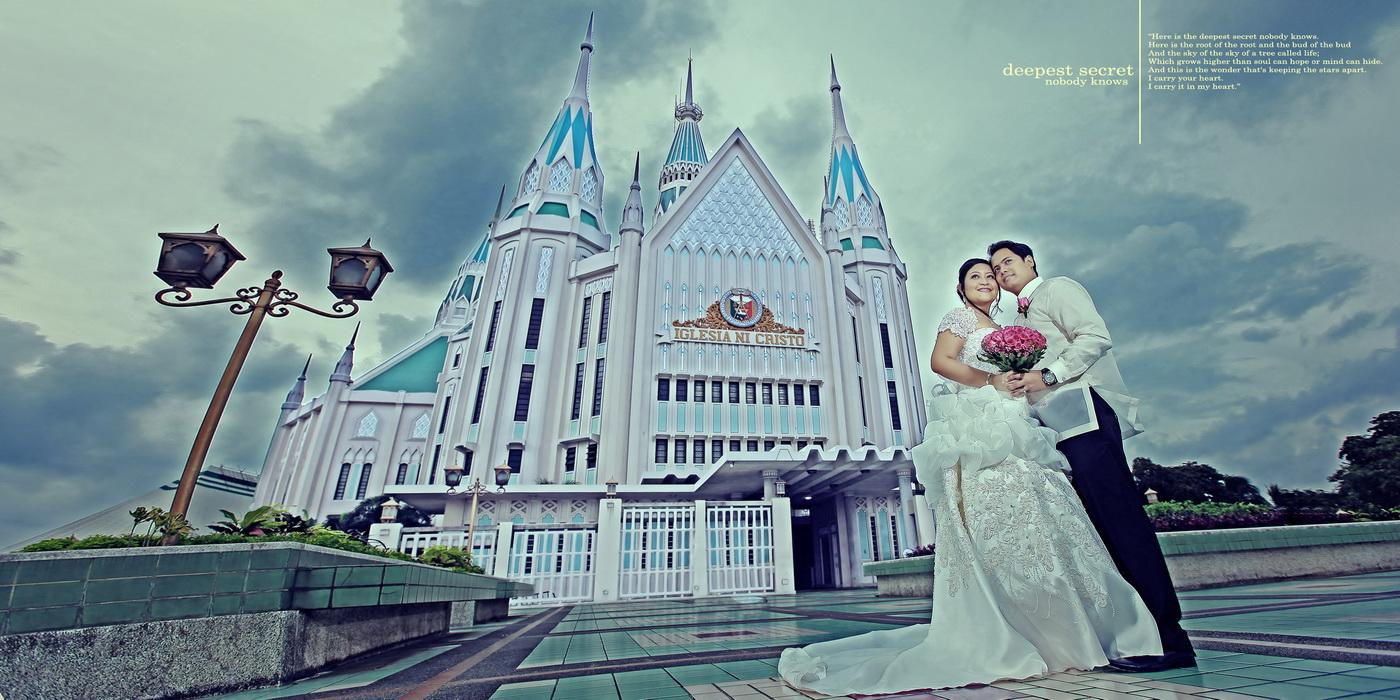 iglesia ni cristo wedding at central temple