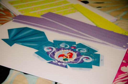 ariel wand printables