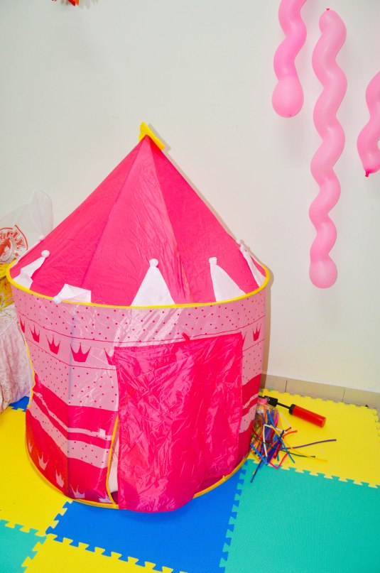 the fairy castle for my princess