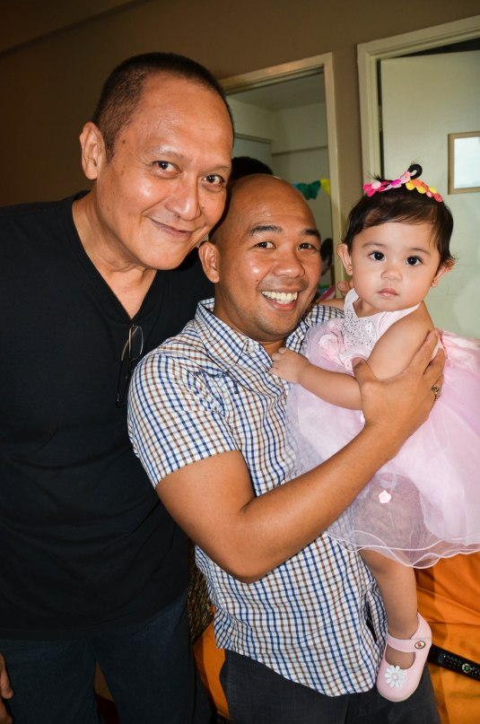 with Dr. Umali and Tito Ronnie