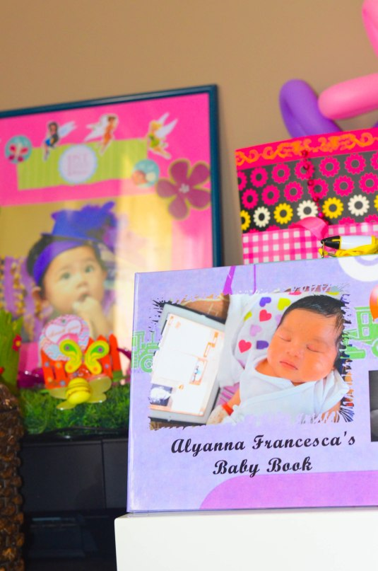 with Lyann's baby book from VPRINTHOUSE, MALAYSIA