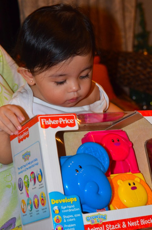 Thank you Tita Michelle and Tito Kristian for my toy...