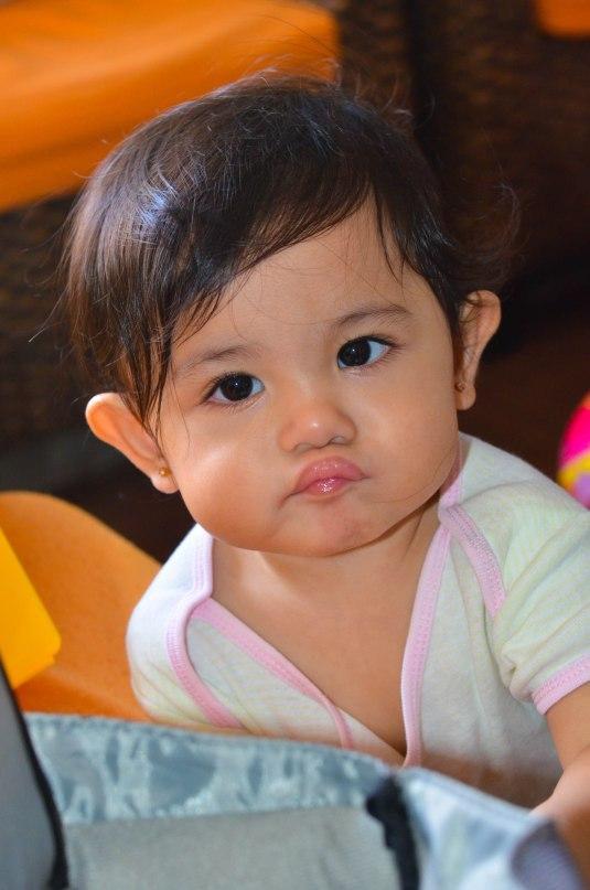 pouty lips!